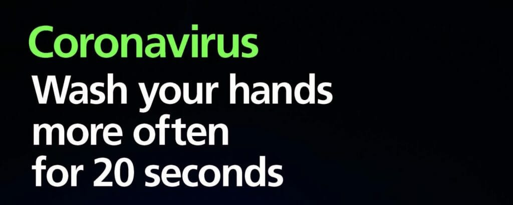 Coronavirus = Business as Usual